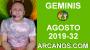 Artwork for HOROSCOPO GEMINIS - Semana 2019-32 Del 4 al 10 de agosto de 2019 - ARCANOS.COM