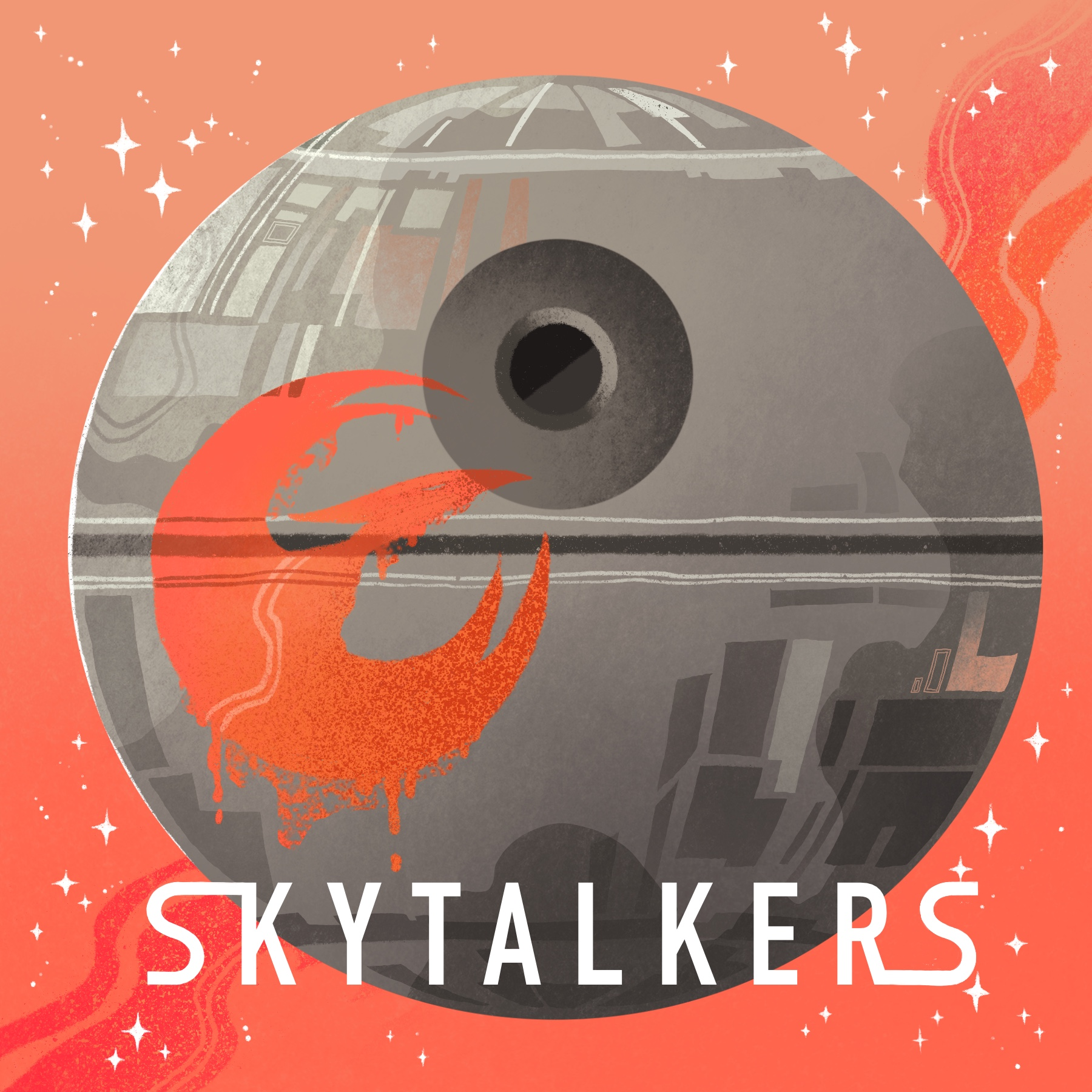 Skytalkers show art