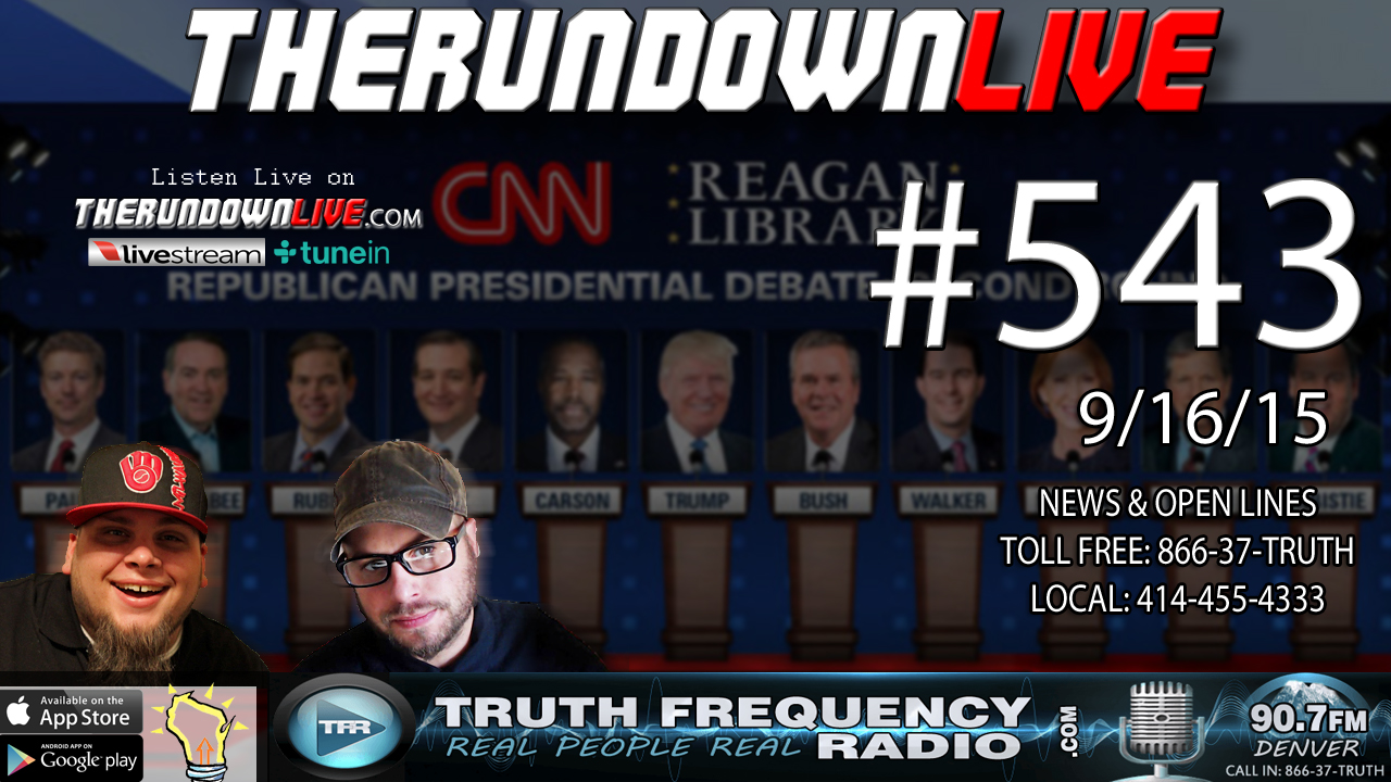 The Rundown Live #543 (Mystery Science #GOPDebate 2016)