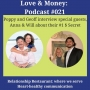 Artwork for E021 - Love and Money with Anna and Will and the Relational Experts Poppy and Geoff Spencer