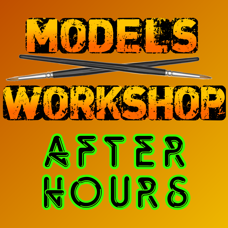 Models Workshop After Hours' podcast show art