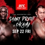 Artwork for KIZ #155: UFC Fight Night: Saint Preux vs. Okami