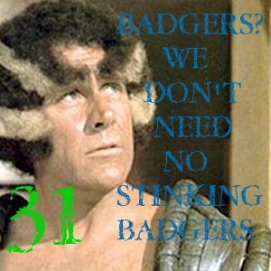 piss on badgers