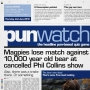 Artwork for 124 - Magpies lose match against 10,000 year old bear at cancelled Phil Collins show