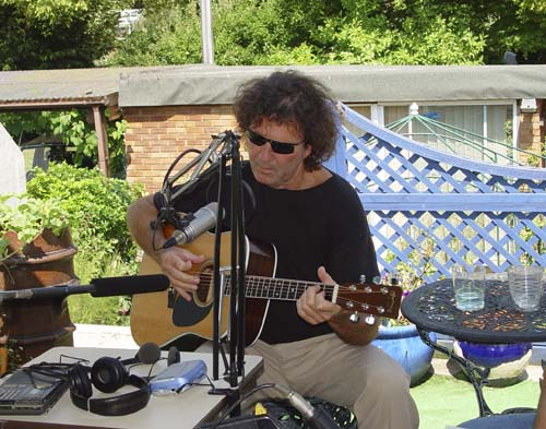 Tony Joe White at the studio in 2003