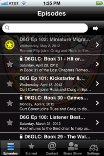 D6G - The Free iOS and Android App