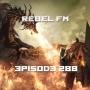 Artwork for Rebel FM Episode 288 - 03/25/2016