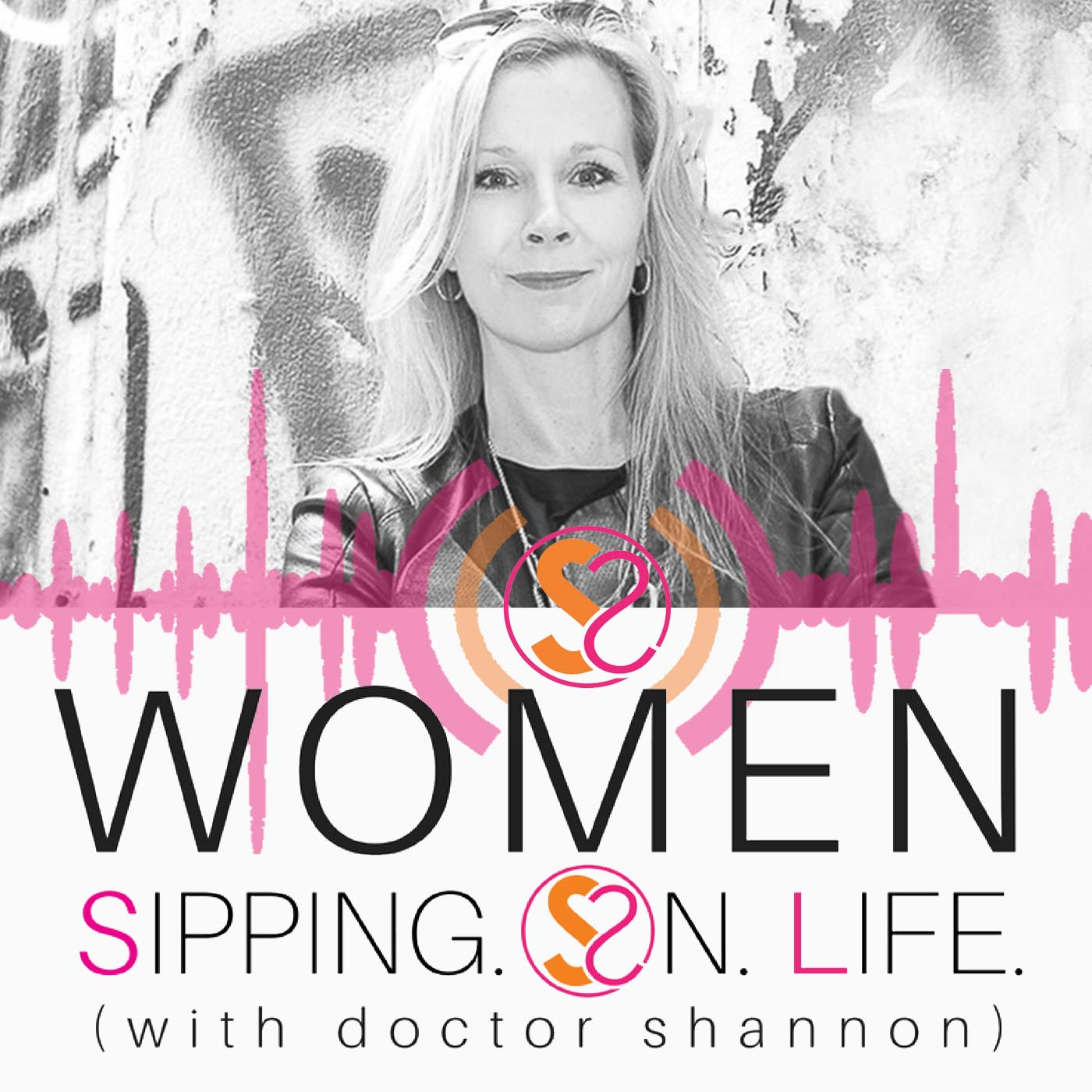WOMEN SIPPING ON LIFE (with doctor shannon) show art
