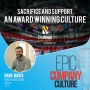 Artwork for Sacrifice and Support: An Award Winning Company Culture  with Dave Davis, Baker Audio Visual