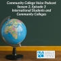 Artwork for International Students and Community Colleges