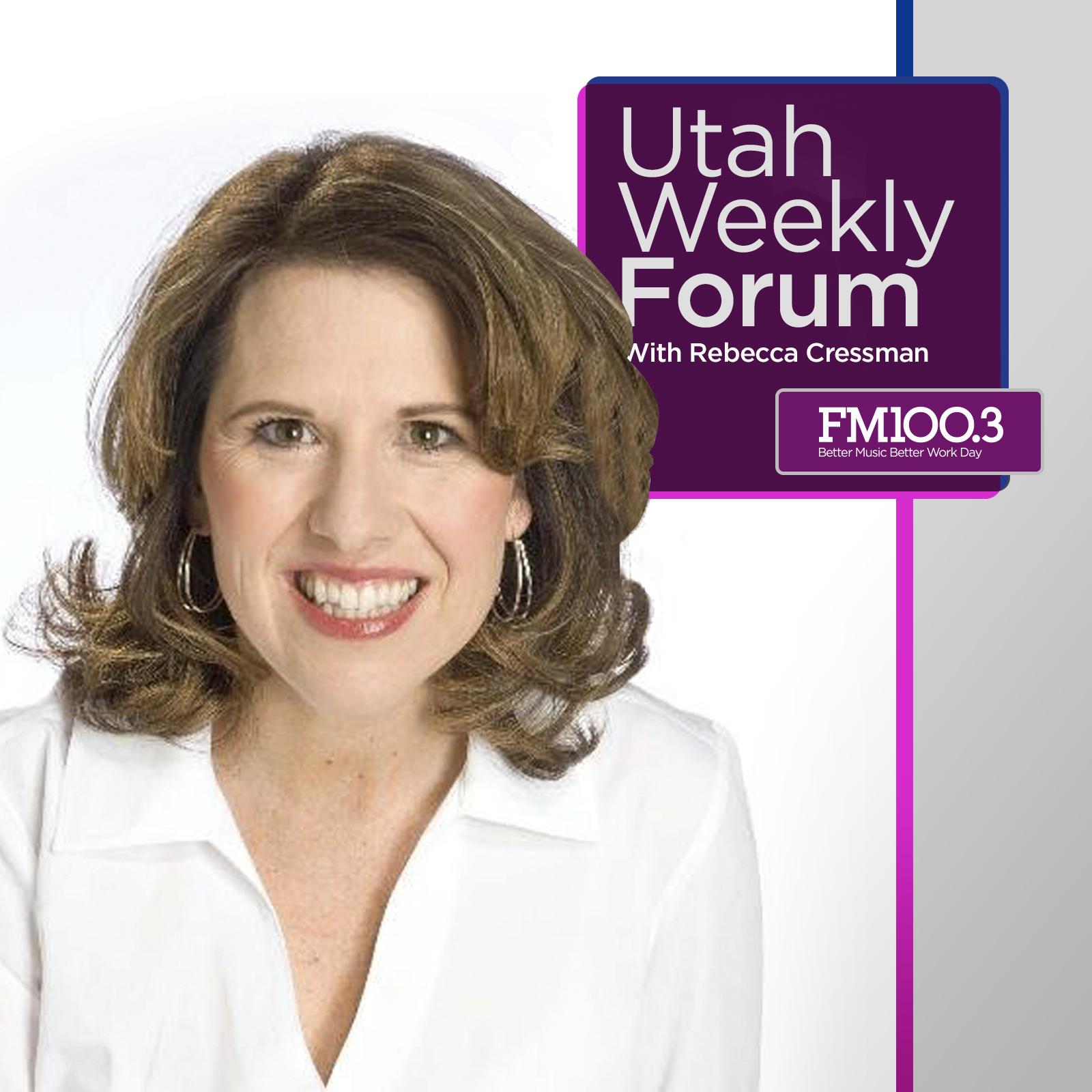 Utah Weekly Forum with Rebecca Cressman show art