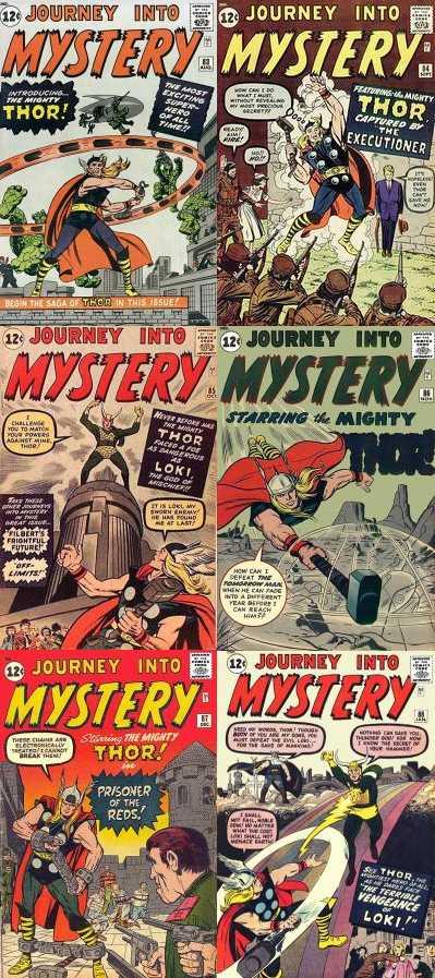 Komicskast - #90 - THOR -  Journey Into Mystery 83 - 88