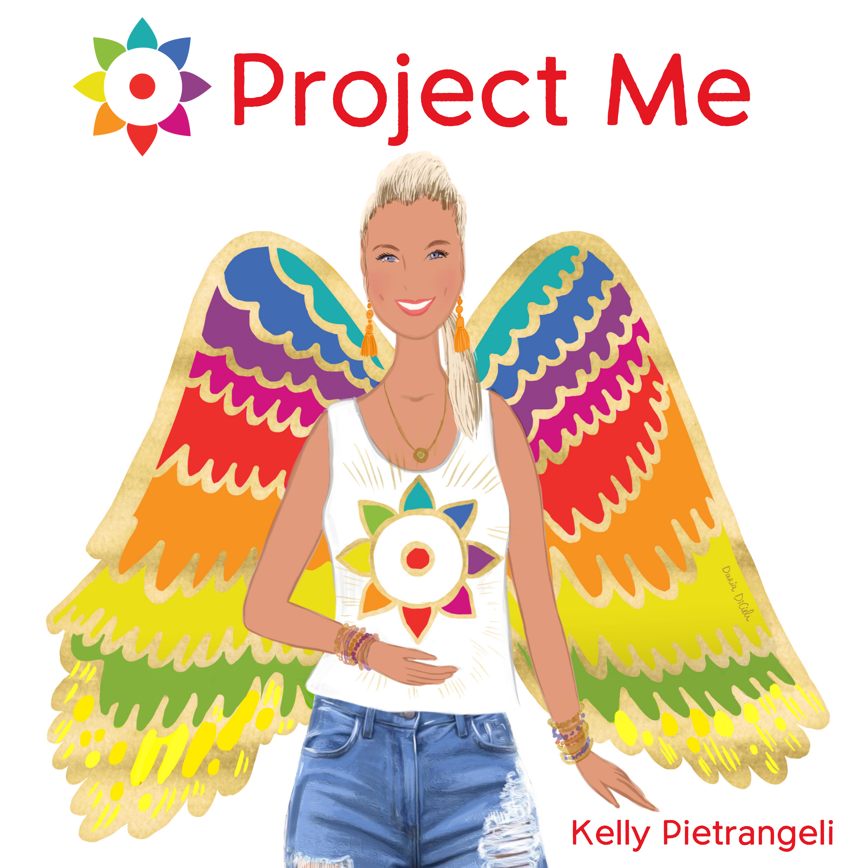 Project Me Podcast show art
