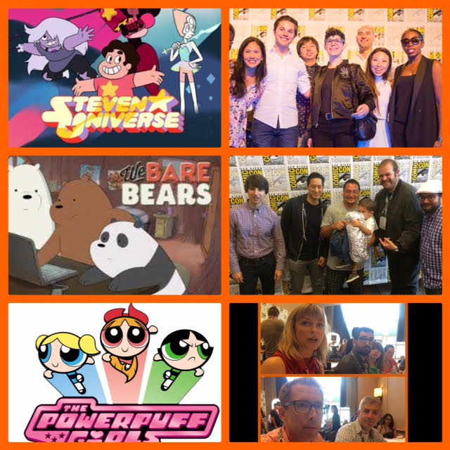 Episode 715 - SDCC: Steven Universe w/ Zach Callison/DeeDee Magno Hall/Michaela Dietz/Rebecca Sugar/Estelle, We Bare Bears w/ Daniel Chong/Bobby Moynihan/Eric Edelstein/Demetri Martin, The Powerpuff Girls w/ Amanda Leighton/Haley Mancini/etc!