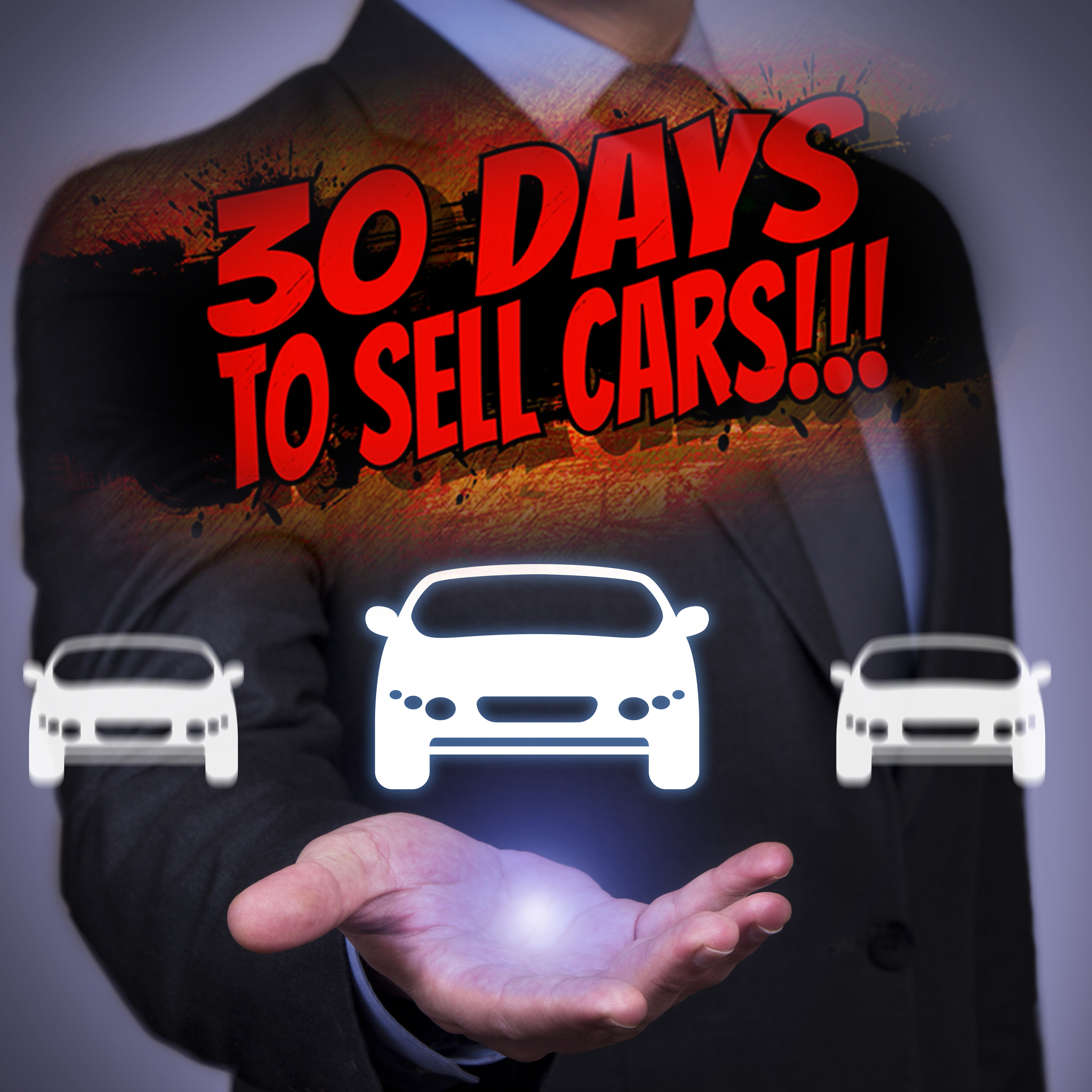 30 Days To Sell Cars Podcast show art