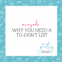 Artwork for Minisode: Why You Need a To-Don't List