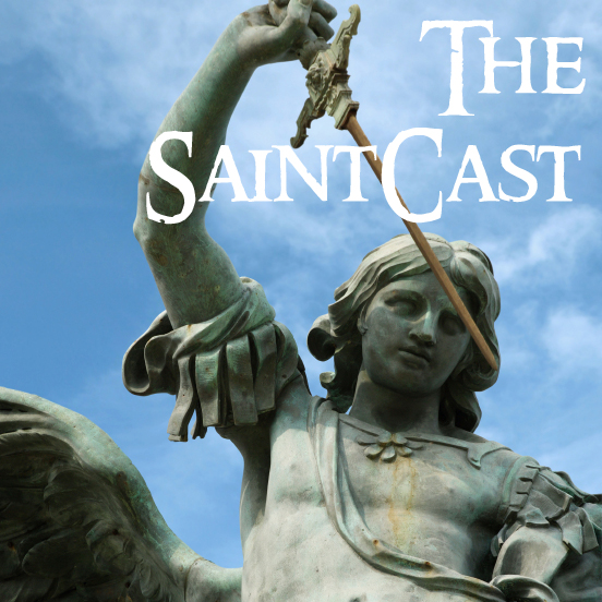 SaintCast Episode #48, St. Michael, patron saint of Vegas, St. Patrick and yoga, Totus Tuus donation, feedback 312.235.2278