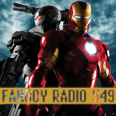 Fanboy Radio #549 - Iron Man 2 Prep w/ Rick Marshall