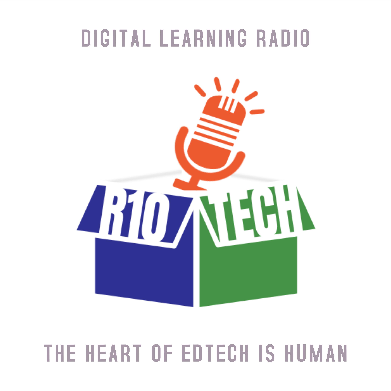 Digital Learning Radio show art