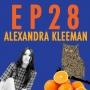 """Artwork for 28: Alexandra Kleeman & """"The Blind Owl"""""""