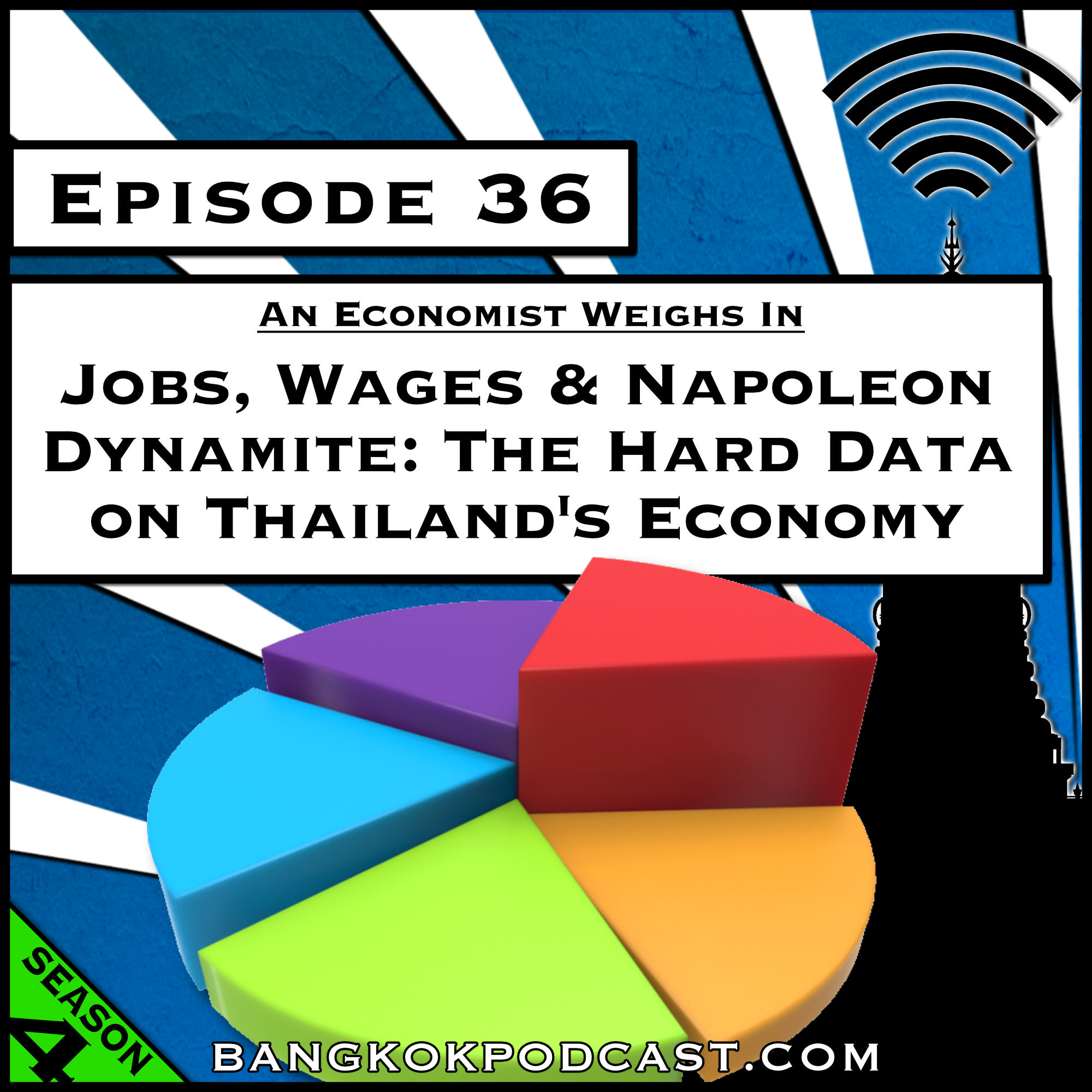 Jobs, Wages and Napoleon Dynamite: The Hard Data on Thailand's Economy [Season 4, Episode 36]