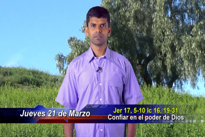 Artwork for Dioa te Habla con Padre Panneer Selvam Santhiagu, SVD  Tema el hoy: confiar en el poder de Dios