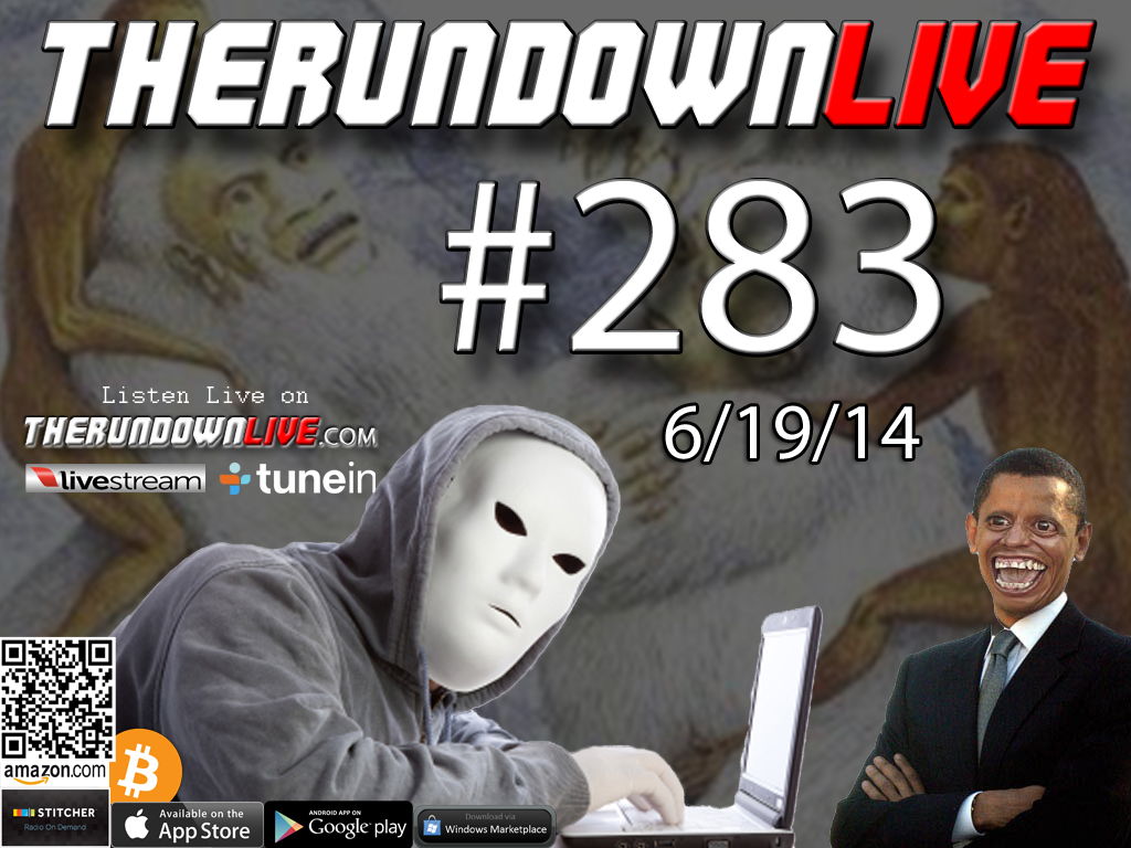 The Rundown Live #283 Open Lines (Military Spying on Activists,Street Art,Facebook Outage)