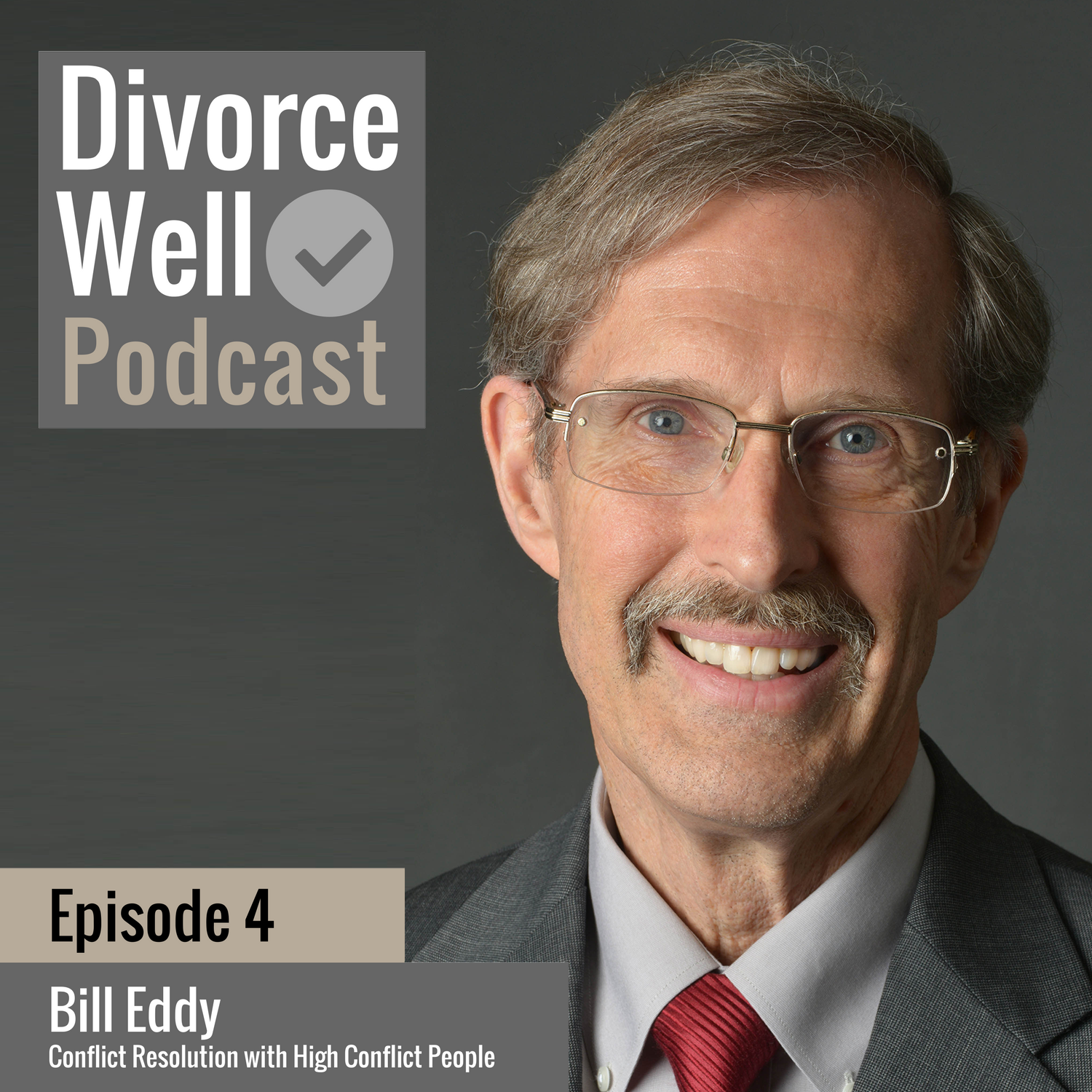 The Divorce Well Podcast - 04 - High Conflict People and Divorce, with Bill Eddy