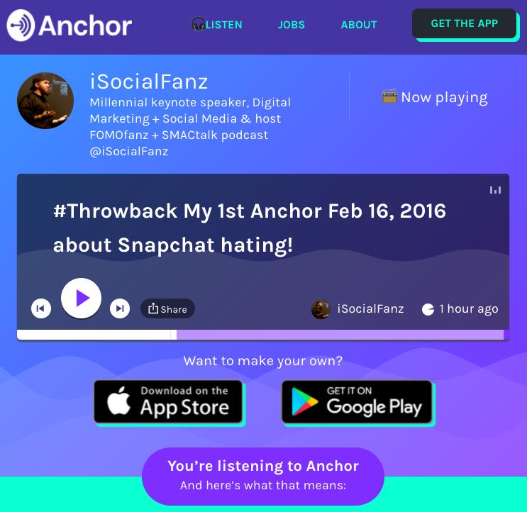 Anchor iSocialFanz