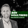Artwork for Purpose Based Identity: Why the Right Mindset will Determine Your Athletic Success, with Performance Scientist Ben Houltberg [Episode 2]