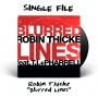 """Artwork for """"Blurred Lines"""" by Robin Thicke - 2013"""