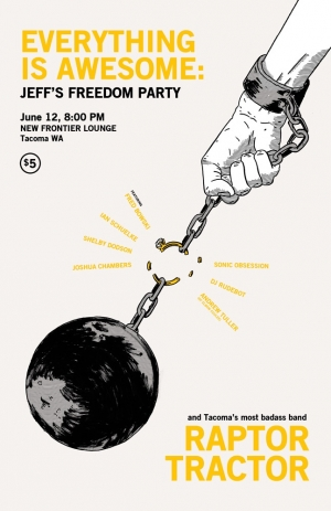 Episode 27: Jeff's Freedom Party! Live at the New Frontier
