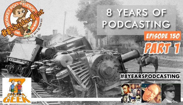 Episode 150: 8 Years of Podcasting