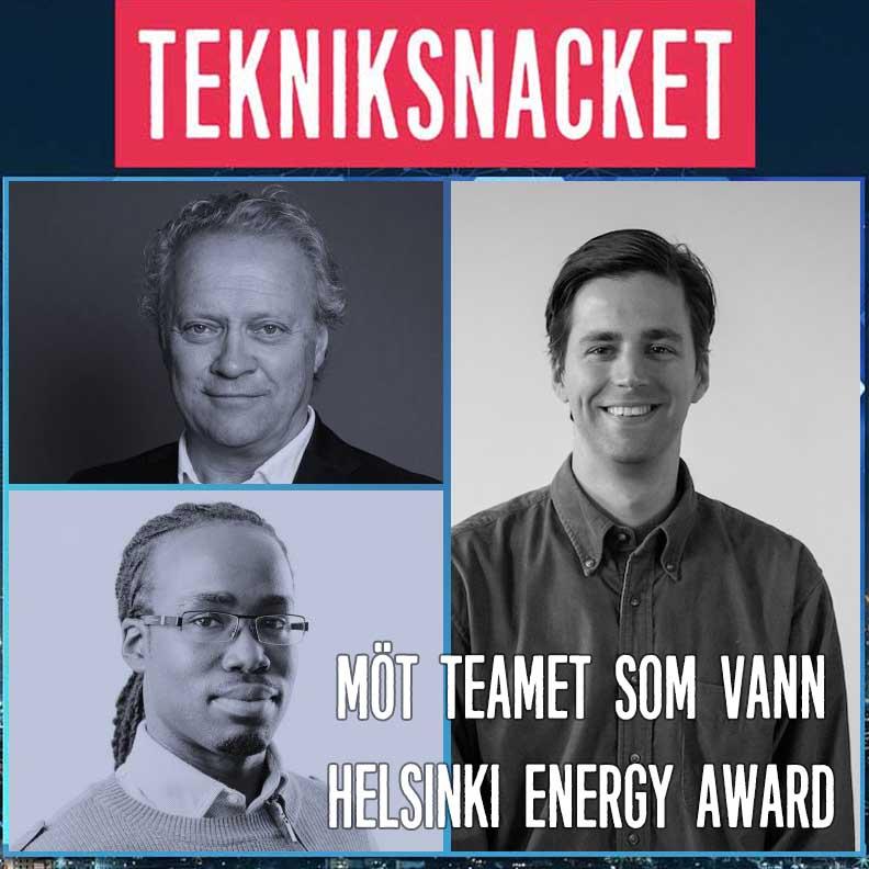 Möt teamet som vann Helsinki Energy Award