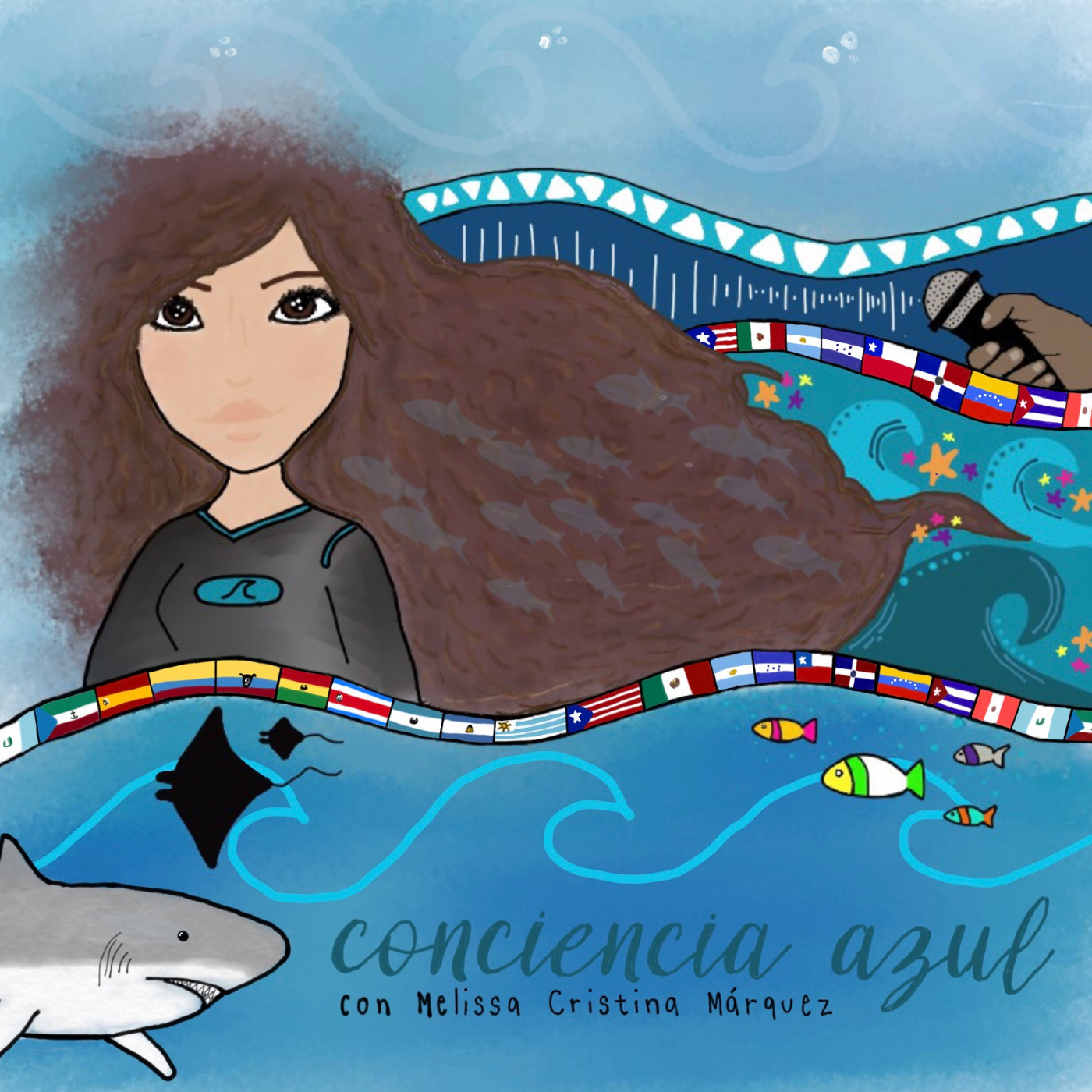 ConCiencia Azul show art