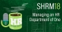 Artwork for SHRM18: Managing an HR Department of One
