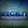 Artwork for NFL Week 10 Pick 6 Episode - (DFS Picks - Fanduel & Draft Kings)