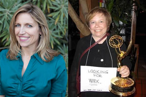 Writer/Comedians Cheryl Holliday and Laurie Kilmartin Share Stories Of Breaking Into Hollywood