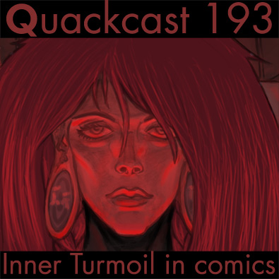Episode 193 - Representing inner turmoil in comics