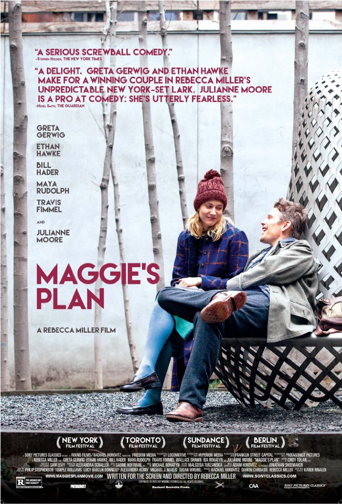 Ep. 245 - Maggie's Plan (Peggy Sue Got Married vs. Ocean's Eleven)