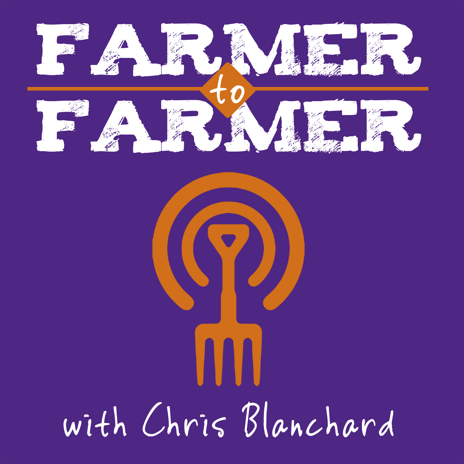 Farmer to Farmer with Chris Blanchard show art