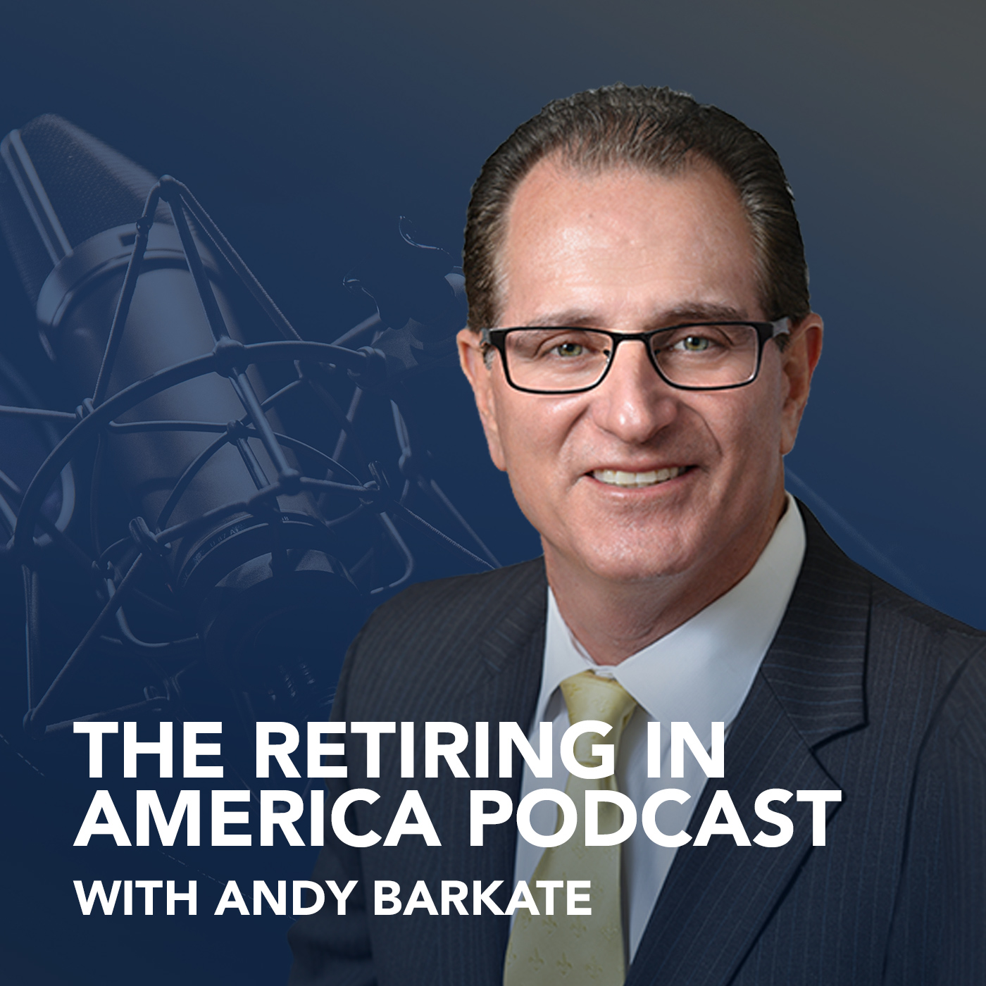 The Retiring in America Podcast show art