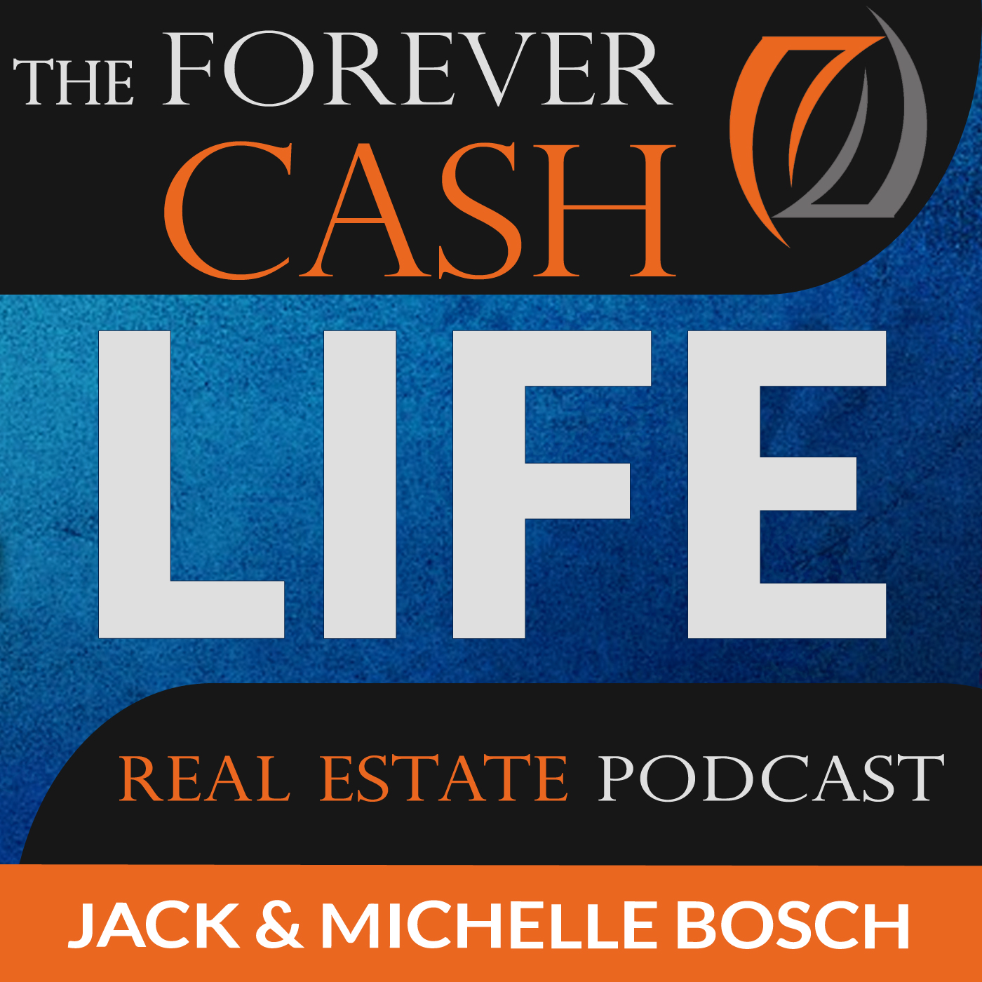 The Forever Cash Life Real Estate Investing Podcast: Create Cash Flow and Build Wealth like Robert Kiyosaki and Donald Trump show art