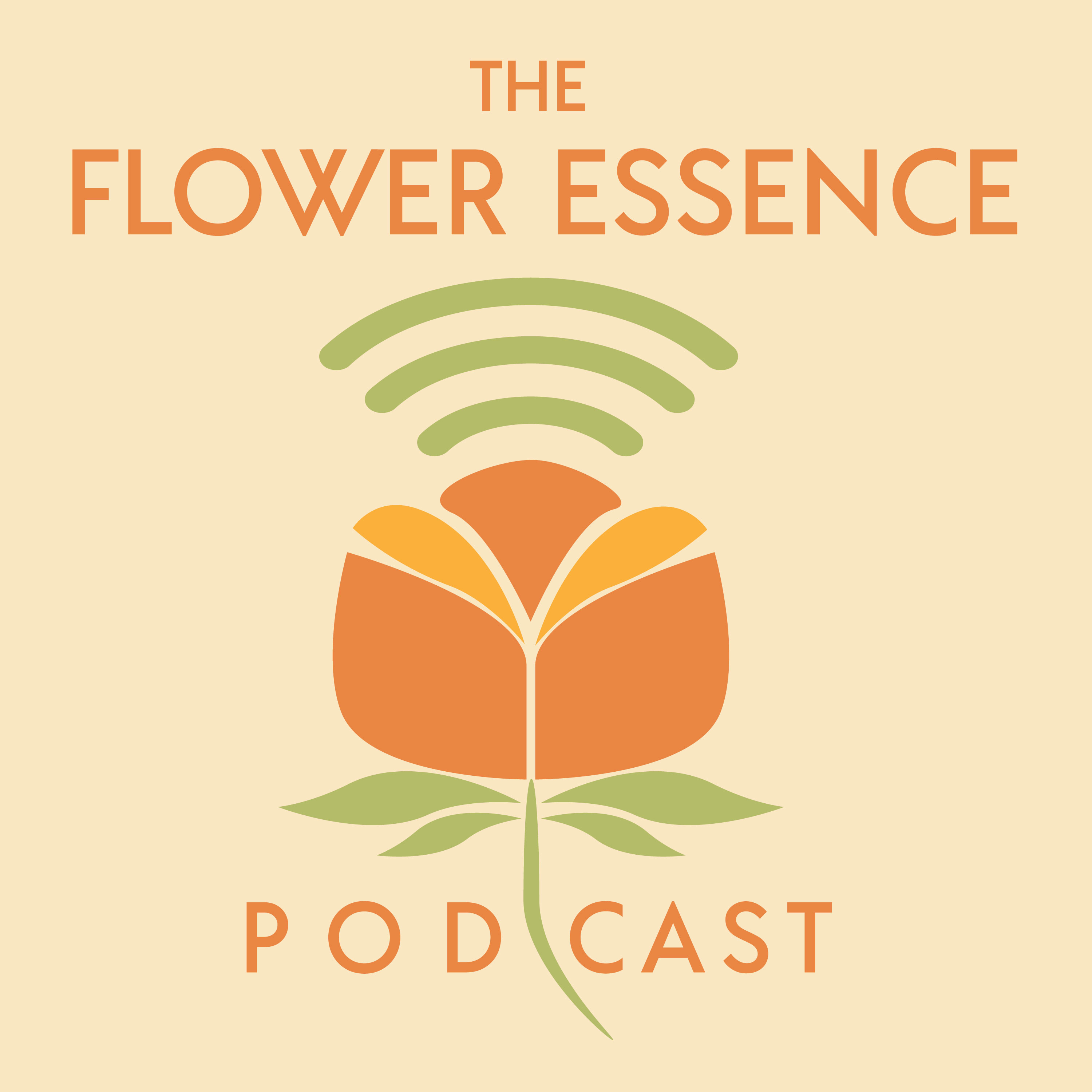 The Flower Essence Podcast show art