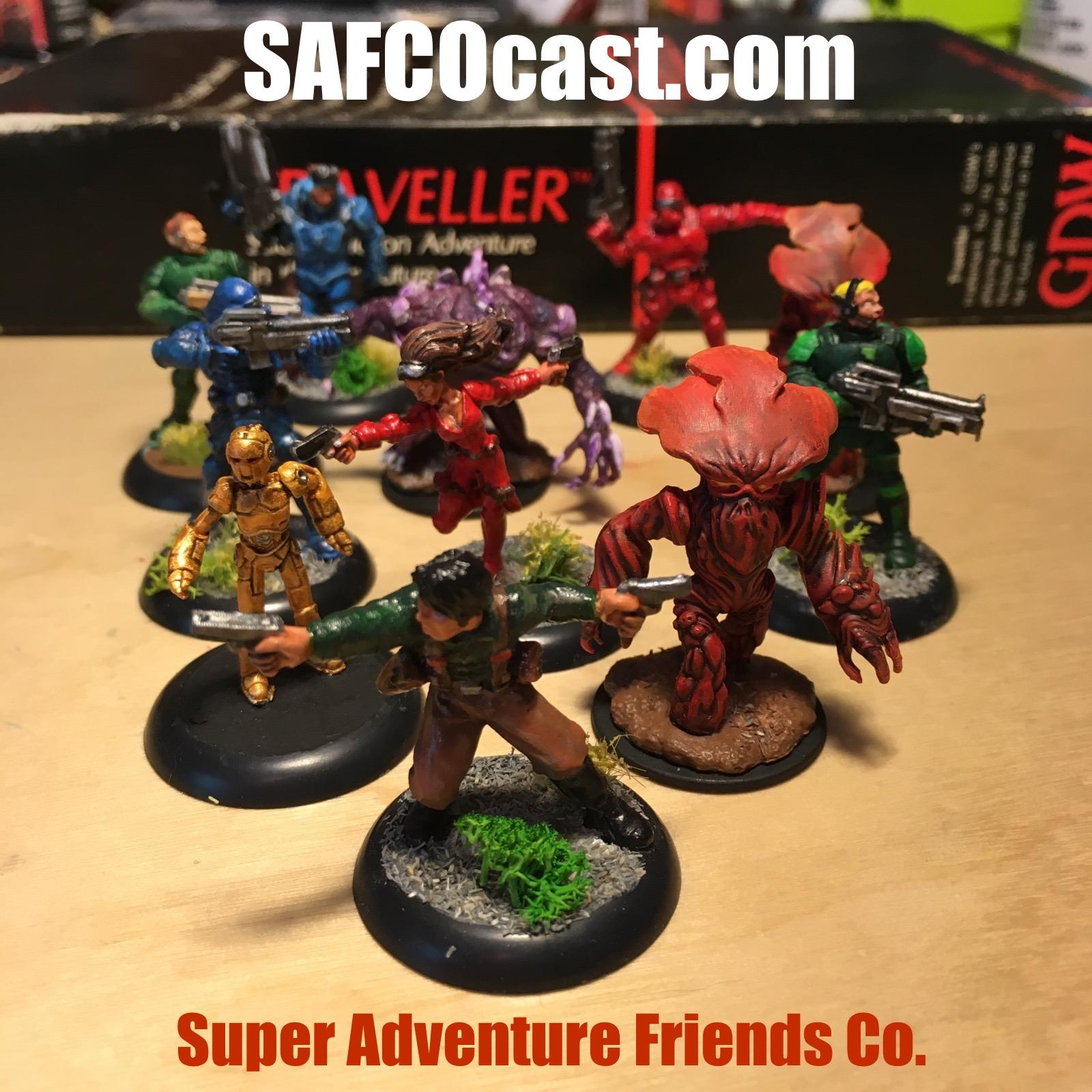 SAFCOcast - a Traveller RPG Podcast show art