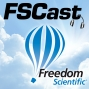 Artwork for FSCast 166 - Streamlined installation of Vocalizer Expressive voices, new sounds in Word and Outlook to indicate spelling errors, and the Freedom Scientific CSUN presentation schedule