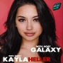 Artwork for Kayla Heller from The Order on Netflix chats with Galaxy