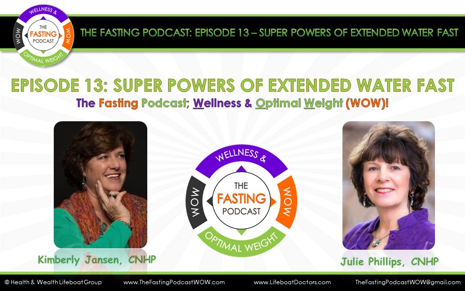 Episode 13 Super Powers of Extended Water Fast (The Fasting