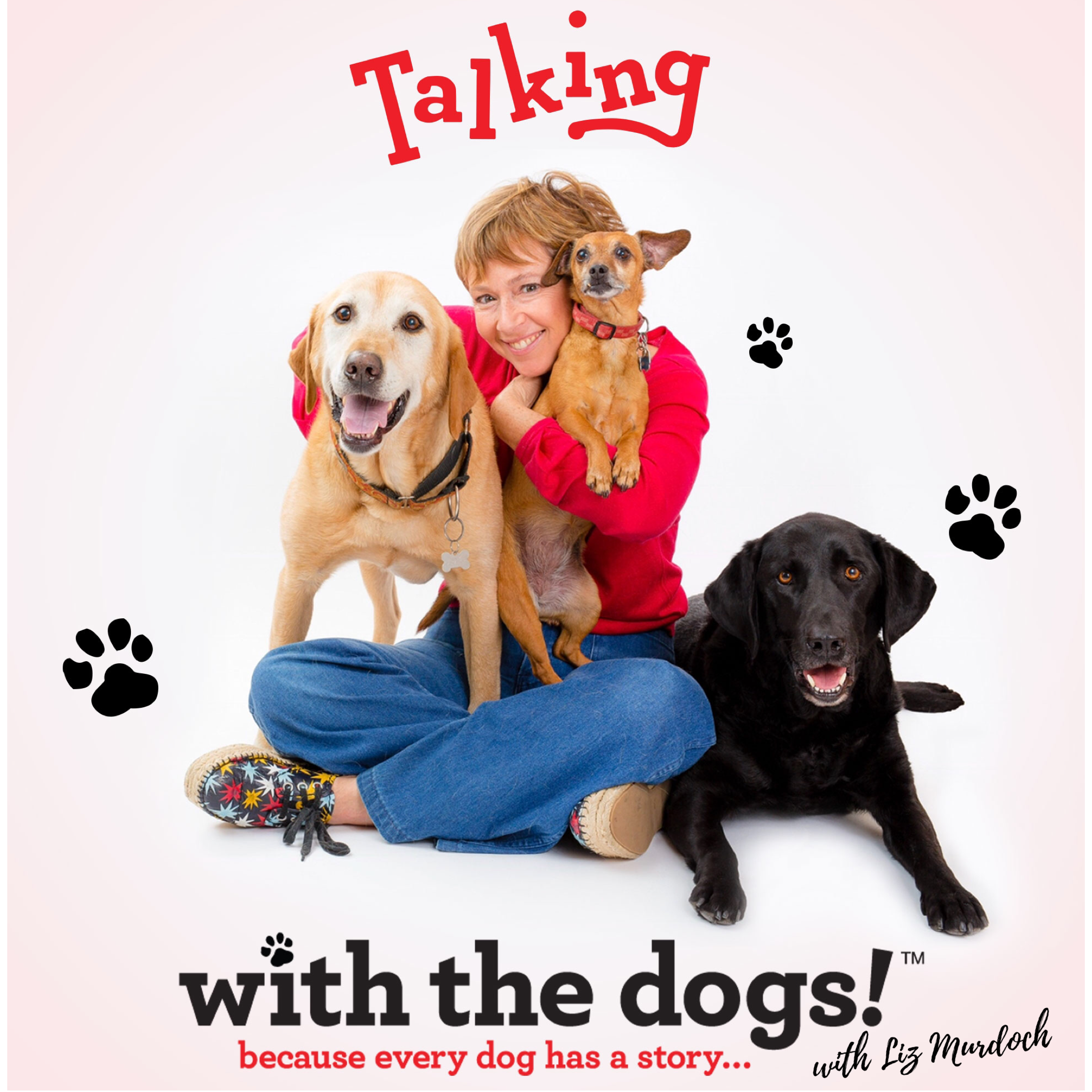 Talking with the dogs! show art