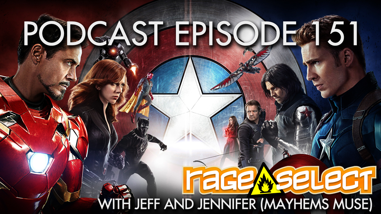 Rage Select Podcast Episode 151 - Jennifer and Jeff Answer Your Questions!